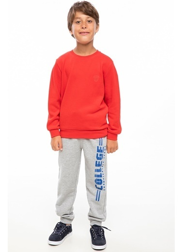 DeFacto Basic Sweatshirt Kırmızı